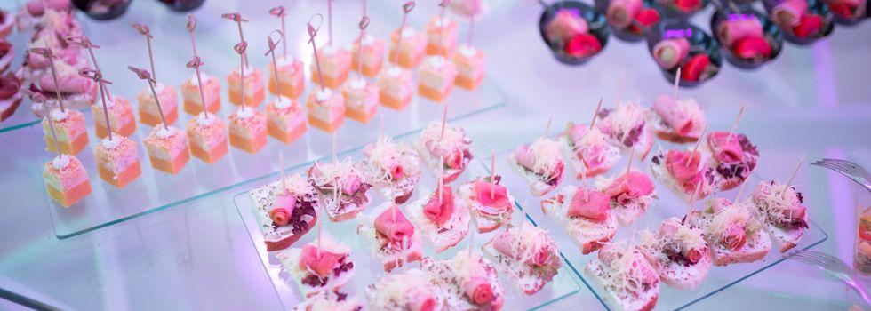 Servicio de catering para fiestas